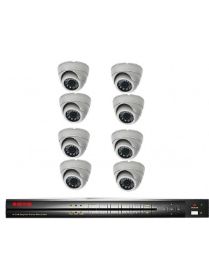 NOVO DVR-8CHANNEL-4TB