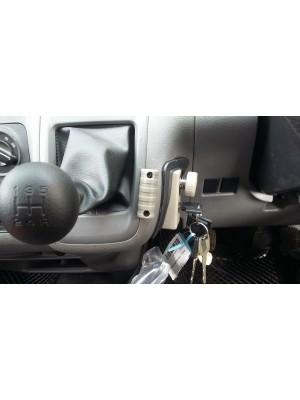 Installed Car Gear Lock