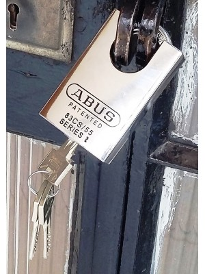 Abus Rock Padlock-suitable for doors and stores