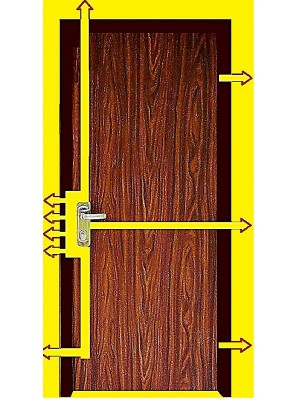 Bullet-Proof/Ballistic High Security Steel Door