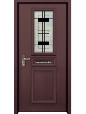 SL 7015 | C granulated-Prestigious multi-locking High Security  Steel Door