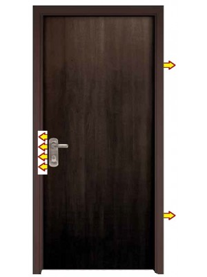 Venga Finish-SL311-Fire-rated/Fire-Proof  Security Steel Door
