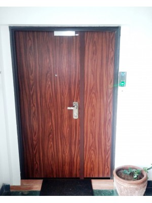 Multi-locking Burglar-Proof  High Security Steel Door (Installed in a modern Office complete with Access System)