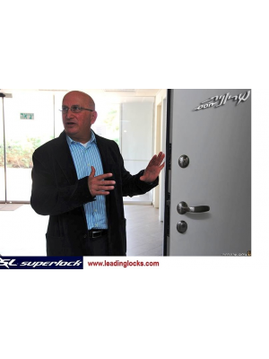 Superlock- Israel NEW INFINITY Security  Door