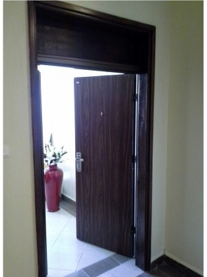 High Security Steel Door-SL2030 installed in an Apartment