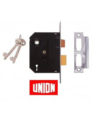 Union 2-Lever Mortise Lock