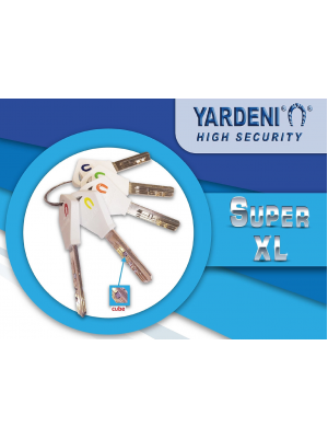 NEW-Yardeni-Israel-Patented-SUPER- XL- Key-Technology