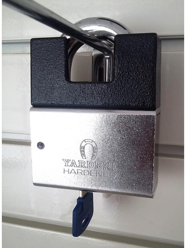 Yardeni High Security Padlock(13mm)+Shackle Protector