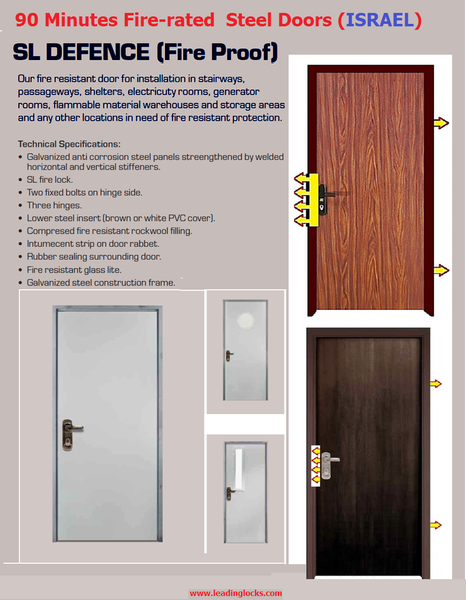 Note Depending on installation requirements we have emergency panic devices and fire-proof door closers suitable for fire-proof doors especially those ...  sc 1 st  Leading Locks Limited & Multi-Lock Fire-Proof-Doors