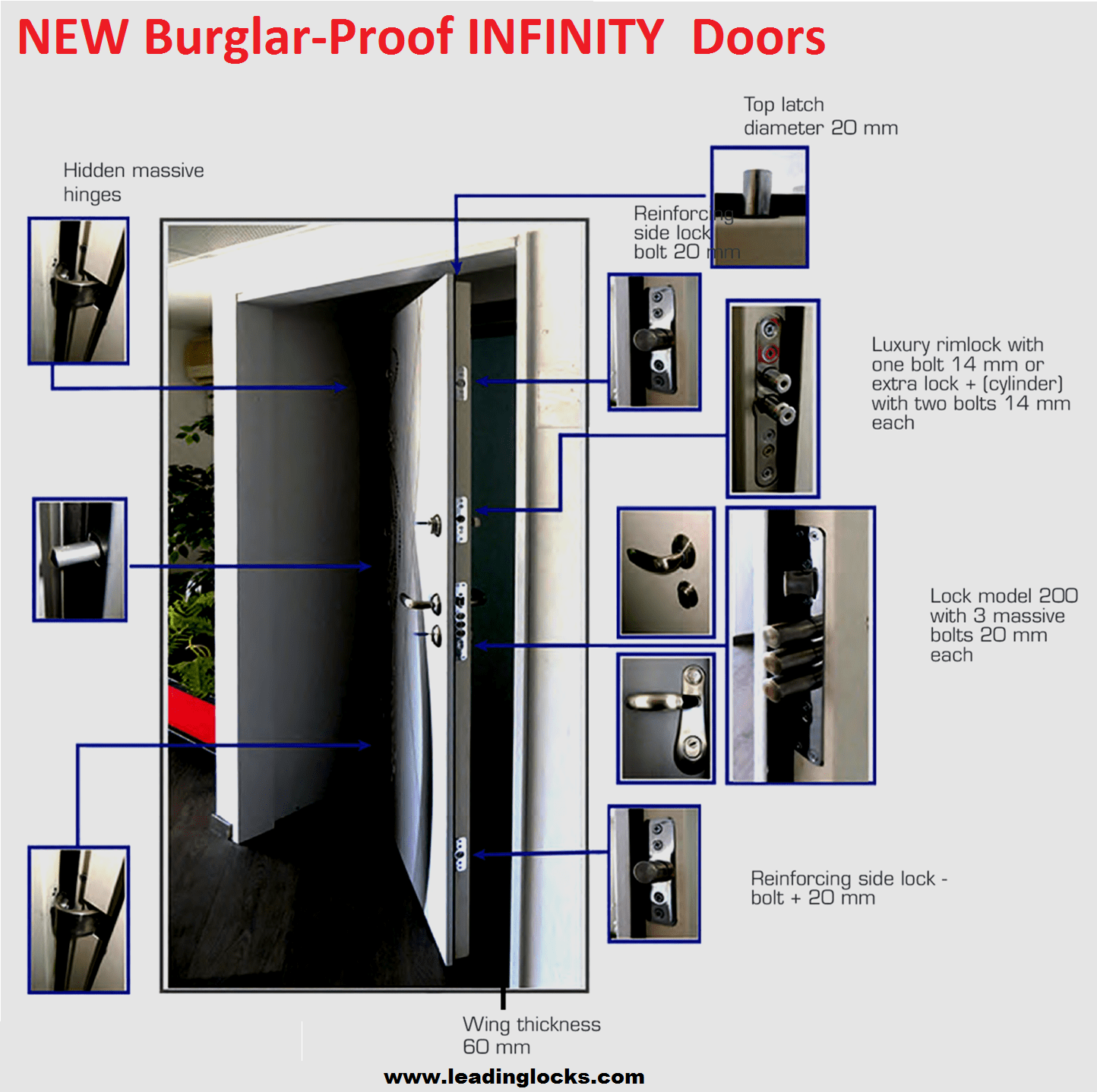 Interior Steel Doors Security Top Steel Security Doors