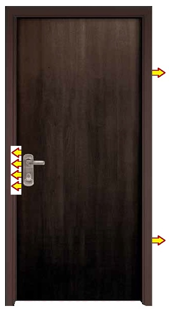 Multi Lock Fire Proof Doors